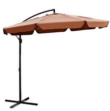 Aleko Patio Furniture ALEKO - Adjustable Outdoor Garden/Patio Hanging Umbrella - 10 Ft