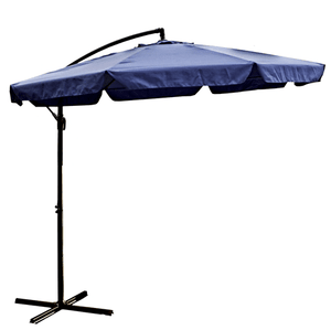 ALEKO Adjustable Outdoor Garden Patio Hanging Umbrella