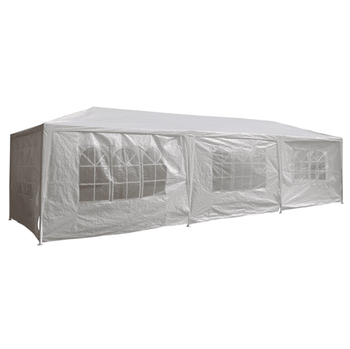 Aleko Tents ALEKO - Tent for Outdoor Picnic Party or Storage - 30 x 10 - White