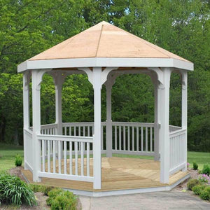 Creekvine Designs Gazebo Creekvine Designs Vinyl Gazebo