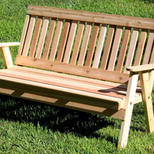Creekvine Designs Patio Furniture 2' Bench Creekvine Designs Cedar Countryside Garden Bench