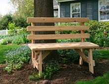 Creekvine Designs Patio Furniture Creekvine Designs Cedar Backed Bench