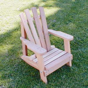 Creekvine Designs Patio Furniture Creekvine Designs Cedar Child Size Wide Slat Adirondack Chair