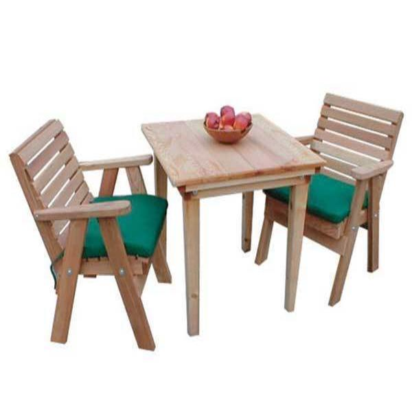 Creekvine Designs Patio Furniture Creekvine Designs Cedar Classic Dining Set