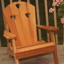 Creekvine Designs Patio Furniture Creekvine Designs Cedar Country Hearts Adirondack Chair