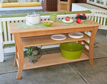 Creekvine Designs Patio Furniture Creekvine Designs Cedar Entertaining Buffet Table