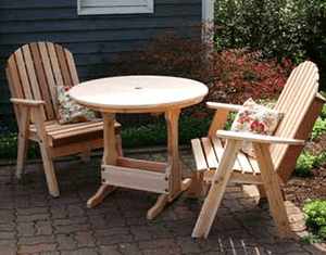 Creekvine Designs Cedar Fanback Patio Chair