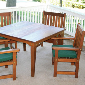 Creekvine Designs Patio Furniture Creekvine Designs Cedar Get-Together Dining Set