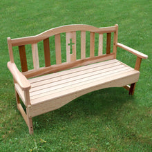 Creekvine Designs Patio Furniture Creekvine Designs Cedar Holy Cross Garden Bench