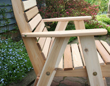 Creekvine Designs Patio Furniture Creekvine Designs Cedar Royal Country Hearts Patio Chair