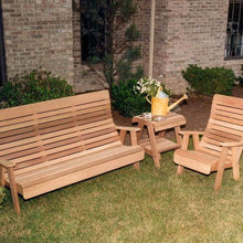 Creekvine Designs Patio Furniture Creekvine Designs Cedar Twin Ponds Bench & Chair Collection