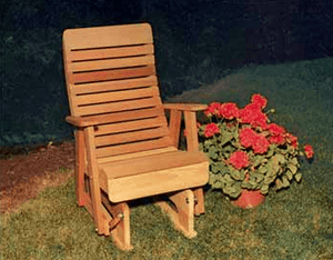 Creekvine Designs Patio Furniture Creekvine Designs Cedar Twin Ponds Rocking Glider