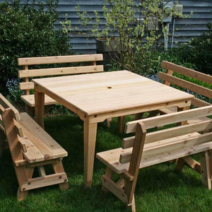 Creekvine Designs Patio Furniture Default Title Creekvine Design Cedar Union Dining Set