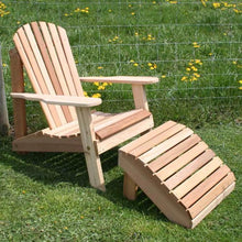 Creekvine Designs Patio Furniture Default Title Creekvine Designs Cedar American Forest Adirondack Chair & Footrest Set