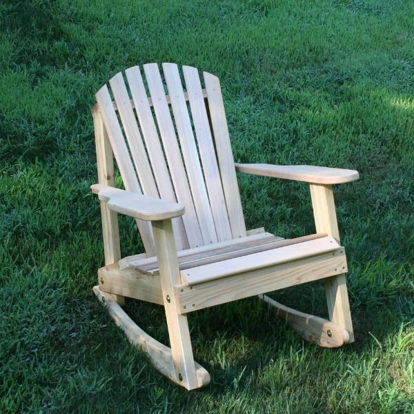 Creekvine Designs Patio Furniture Default Title Creekvine Designs Cedar American Forest Adirondack Rocker