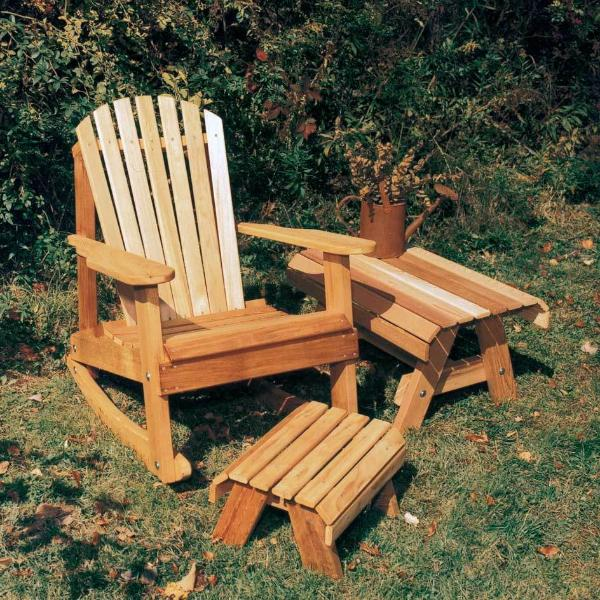 Creekvine Designs Patio Furniture Default Title Creekvine Designs Cedar American Forest Adirondack Rocker Collection