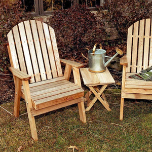 Creekvine Designs Patio Furniture Default Title Creekvine Designs Cedar Fanback Patio Chair