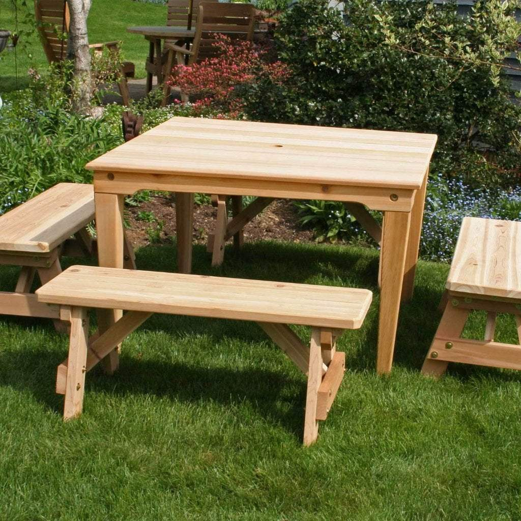 Creekvine Designs Patio Furniture Default Title Creekvine Designs Cedar Social Dining Set