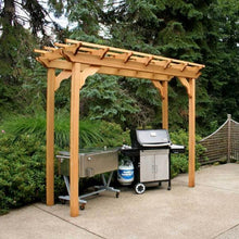 Creekvine Designs Pergola 3' x 8' Pergola Creekvine Designs Cedar New Dawn Pergola