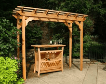Creekvine Designs Pergola Creekvine Designs Cedar New Dawn Pergola