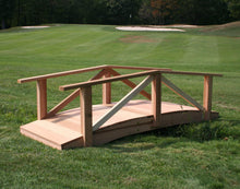 Creekvine Designs Yard Decor 4' Bridge Creekvine Designs Cedar Pearl River Garden Bridge