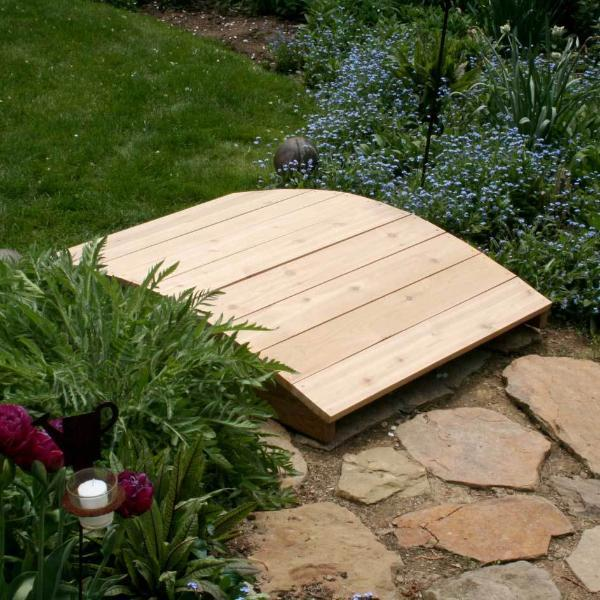 Creekvine Designs Yard Decor Default Title Creekvine Designs Cedar Plank Bridge