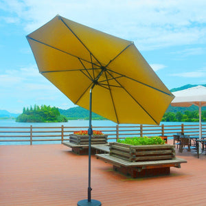 Direct Wicker Patio Furniture Beige Direct Wicker - 10' Market Umbrella