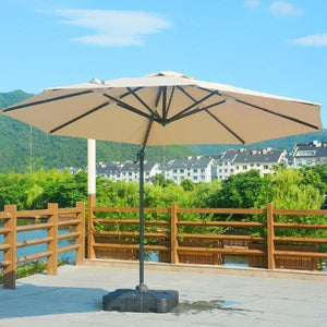 Direct Wicker Patio Furniture Khaki Direct Wicker - 11.5' Cantilever Umbrella