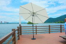 Direct Wicker Patio Furniture White Direct Wicker - 10' Market Umbrella