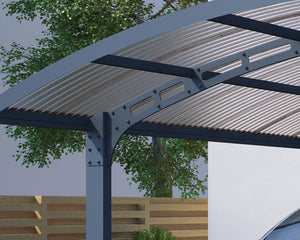 Palram Carport Palram - Arizona Wave 5000 Carport