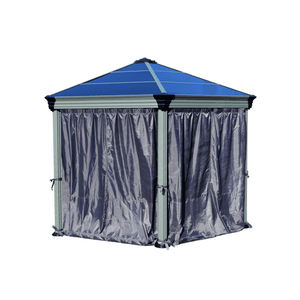 Palram - Roma Gazebo Curtain set - 6 Piece - Upgraded Outdoor Living