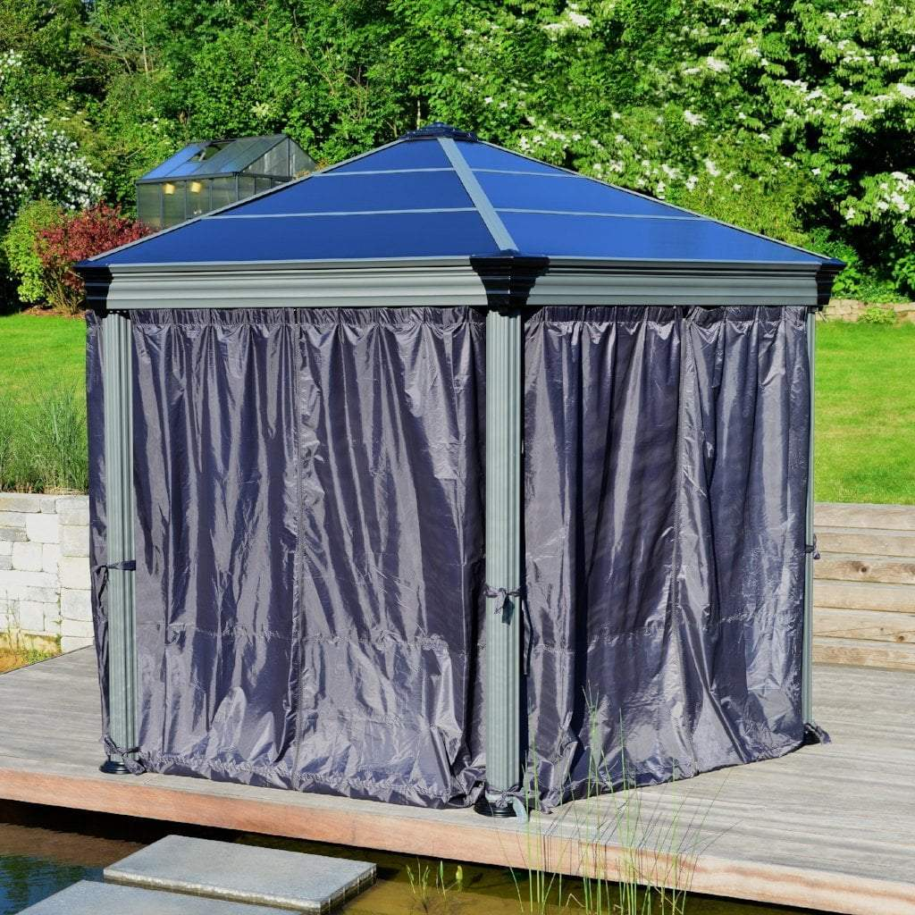 Palram Gazebo Accessories Palram - Roma Gazebo Curtain set - 6 Piece