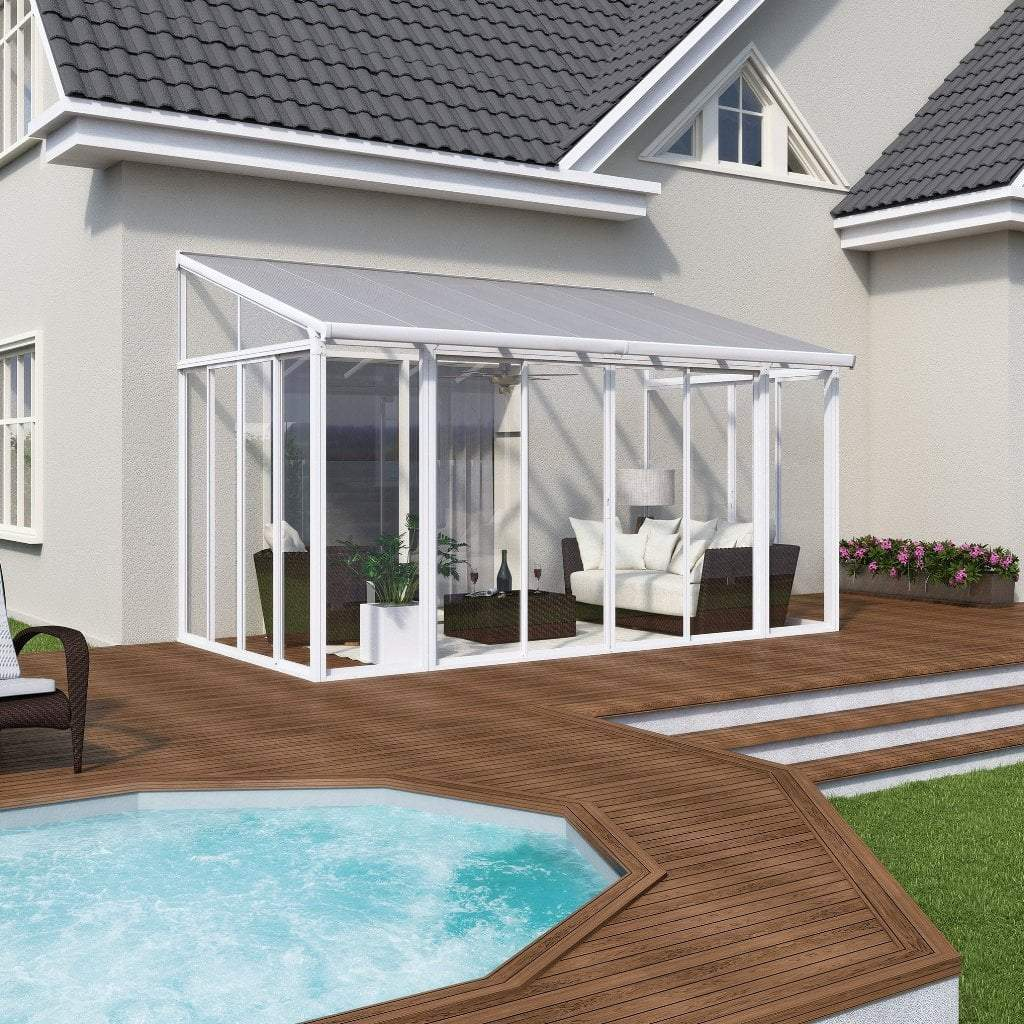 Palram Patio Cover 10' x 14' Palram - SanRemo Patio Enclosure - 10' Series