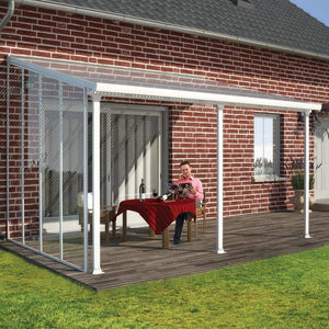 Palram Patio Cover Palram - Feria Patio Cover Sidewall Kit - 10' - White