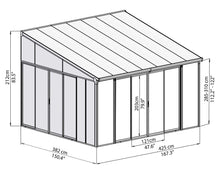 Palram Patio Cover Palram SanRemo Patio Enclosure