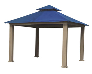 Riverstone Industries Gazebo Cobalt Blue Riverstone Industries - 12 FT SQ ACACIA SunDURA Gazebo
