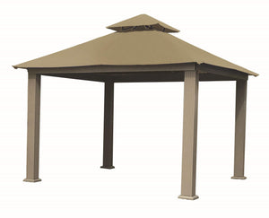 Riverstone Industries Gazebo Khaki Riverstone Industries - 12 FT SQ ACACIA SunDURA Gazebo