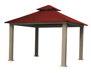 Riverstone Industries Gazebo Red Riverstone Industries - 12 FT SQ ACACIA SunDURA Gazebo