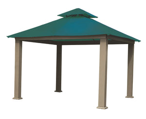 Riverstone Industries Gazebo Teal Riverstone Industries - 12 FT SQ ACACIA SunDURA Gazebo