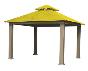 Riverstone Industries Gazebo Yellow Riverstone Industries - 12 FT SQ ACACIA SunDURA Gazebo