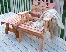Upgraded Outdoor Living Creekvine Designs Cedar Country Hearts Patio Chair