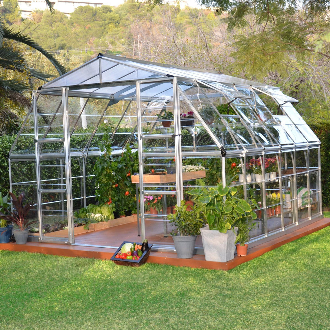 Upgraded Outdoor Living Greenhouse Palram Americana Greenhouse