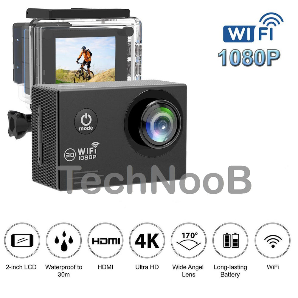1080P HD Waterproof Action Camera Sports Action Camera