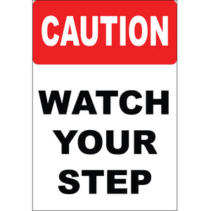 Magnet - A-Frame Sign (Caution Watch Your Step)