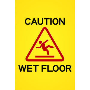Magnet - A-Frame Sign (Caution Wet Floor 3)