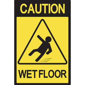 Magnet - A-Frame Sign (Caution Wet Floor 4)