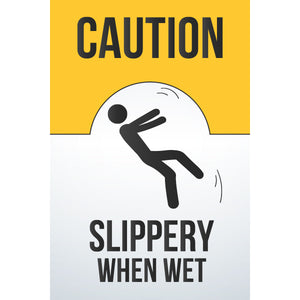 Magnet - A-Frame Sign (Caution Wet Floor 5)