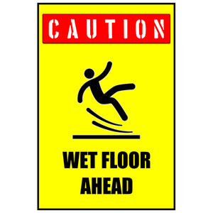 Magnet - A-Frame Sign (Caution Wet Floor 2A)
