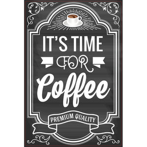 Magnet - A-Frame Sign (Coffee Time Sign)