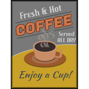 Magnet - A-Frame Sign (Coffee 2A)